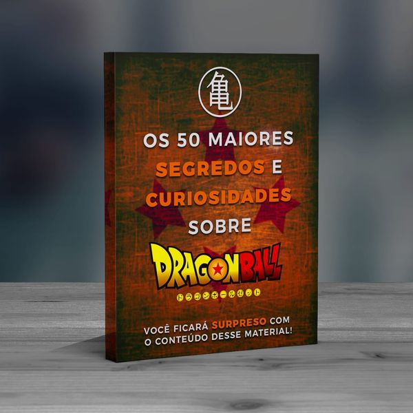 Imagem principal do produto E-book Dragon Ball