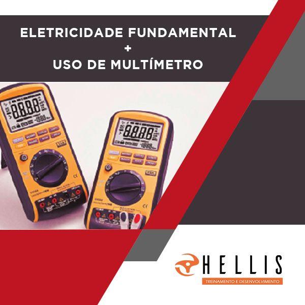 Imagem principal do produto Eletricidade Fundamental + Uso de Multímetro