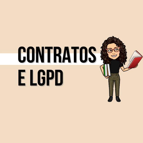 Imagem principal do produto Contratos e LGPD