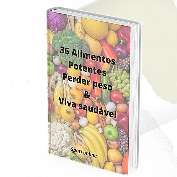 Imagem principal do produto 36 Alimentos Potentes Perder peso & Viva saudável