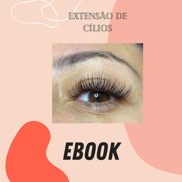Imagem principal do produto Ebook Extensão de Cílios Fio a Fio Clássico