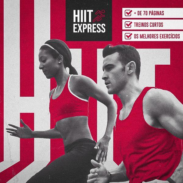 Imagem principal do produto e-Book HIIT Express - Os melhores exercícios