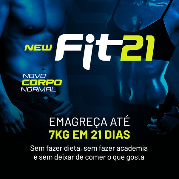 Imagem principal do produto new Fit21 - novo CORPO normal