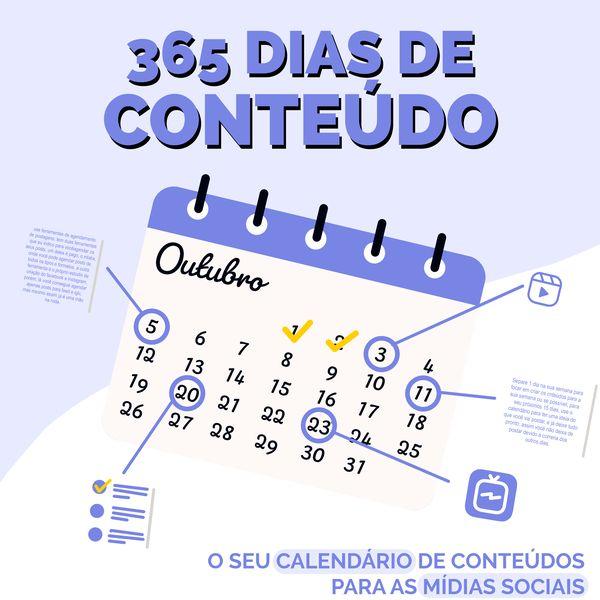 Imagem principal do produto 365 Dias de Conteúdos - 2021/2022