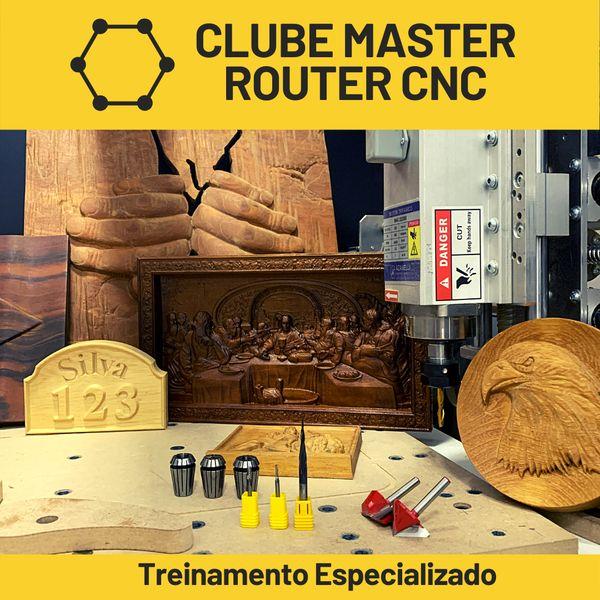 Imagem principal do produto Clube Master Router CNC
