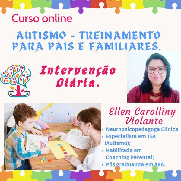 Imagem principal do produto     AUTISMO- Treinamento para pais e familiares. Intervenção Diária.