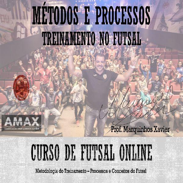 Imagem principal do produto Curso Online - Métodos, Processos e Conceitos do Futsal