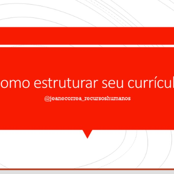 Imagem principal do produto Currículo que te aprova!