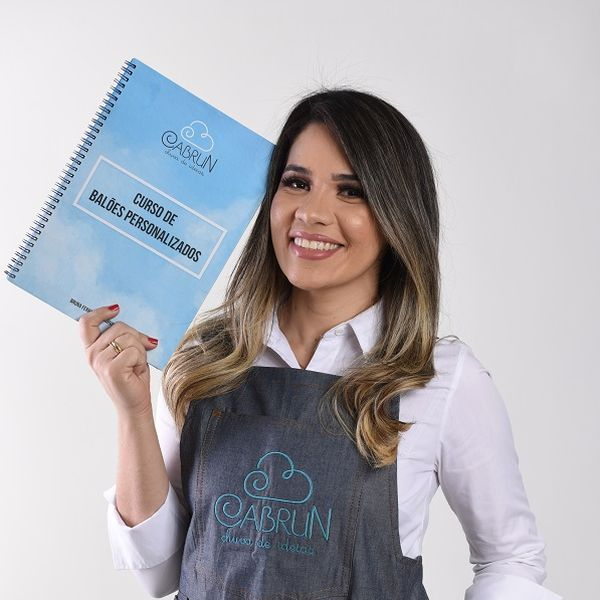 Imagem principal do produto E-book Curso de Balões Personalizados