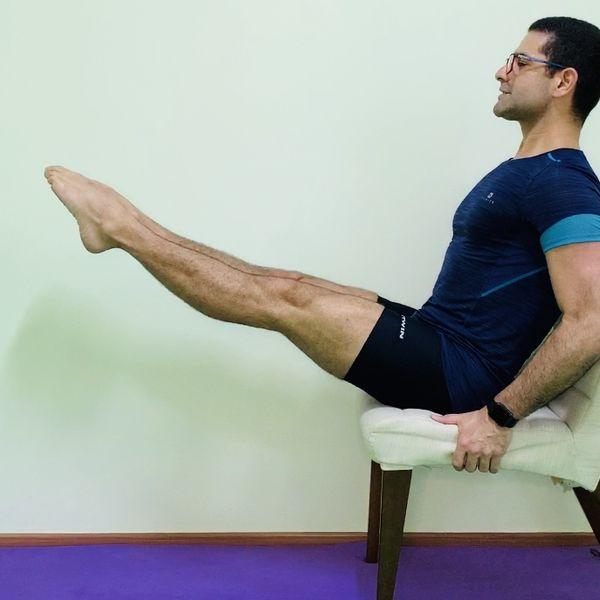Imagem principal do produto Curso de Pilates sobre prática regular de alongamento