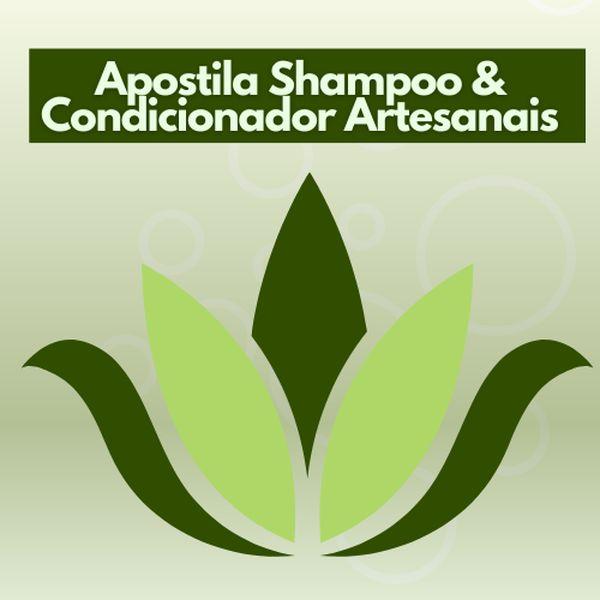 Imagem principal do produto Apostila Shampoo & Condicionador Artesanais