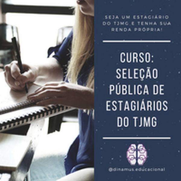 Imagem principal do produto PREPARATÓRIO - SELEÇÃO PÚBLICA DE ESTAGIÁRIOS TJMG