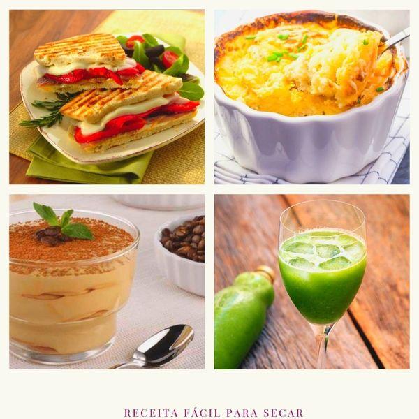 Imagem principal do produto EMAGREÇA SEM PASSAR FOME - Receita fácil para secar do café da manhã ao chá da noite