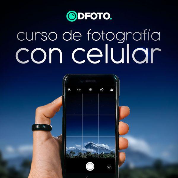 Imagem principal do produto Curso de Fotografía con Celular