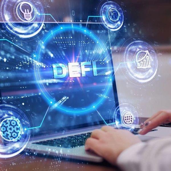Imagem principal do produto CONSULTORIA  sobre  DeFi (Finanças Descentralizadas )
