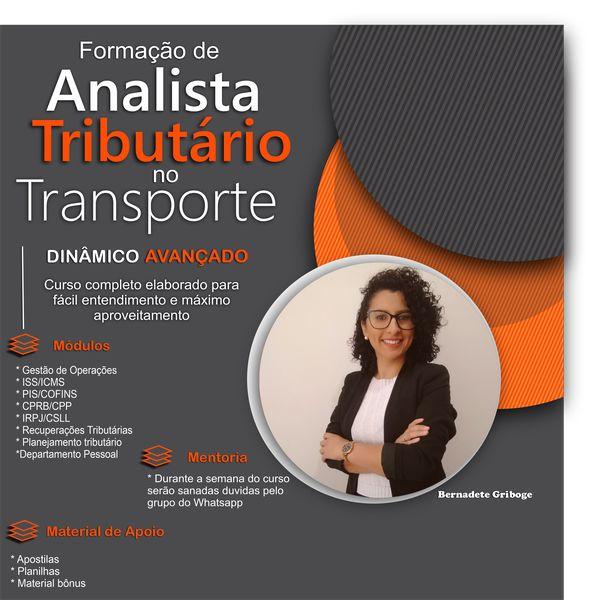 Imagem principal do produto Formação de Analista Tributário no Transporte