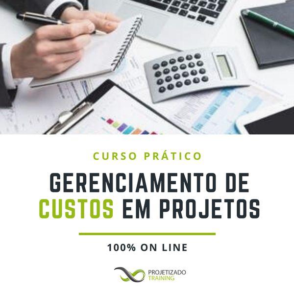 Imagem principal do produto Curso Prático de Gerenciamento de Custos em Projetos.