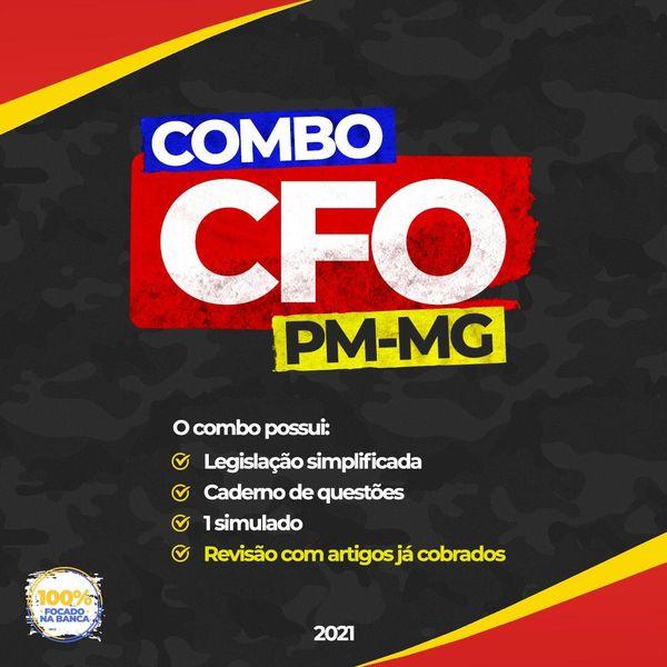 Imagem principal do produto COMBO CFO PMMG 2021 - PÓS EDITAL