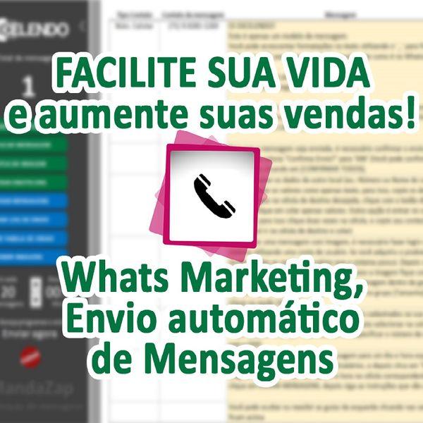 Imagem principal do produto MandaZap Marketing - Envio de mensagens