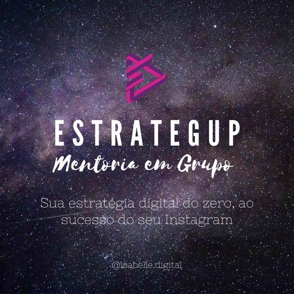 Imagem principal do produto EstrategUP - Mentoria de Marketing Digital em Grupo