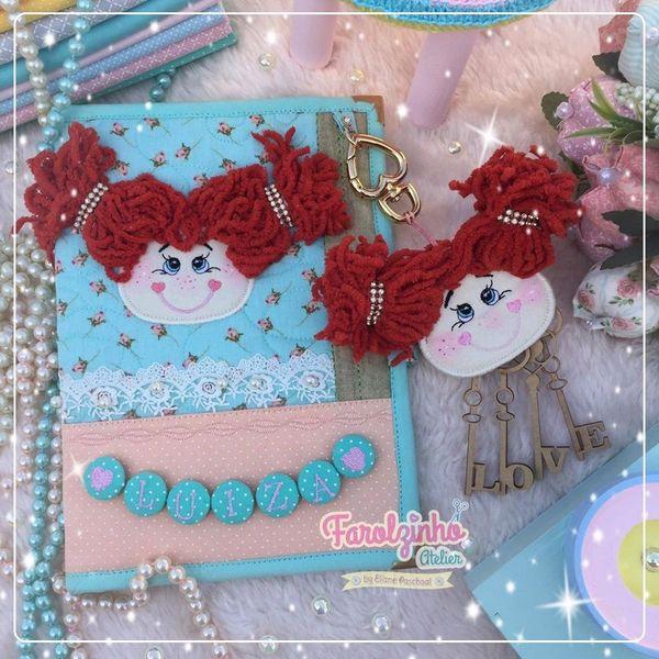 Imagem principal do produto Capa de Caderneta
