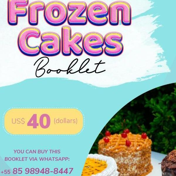 Imagem principal do produto Frozen Cake Booklet