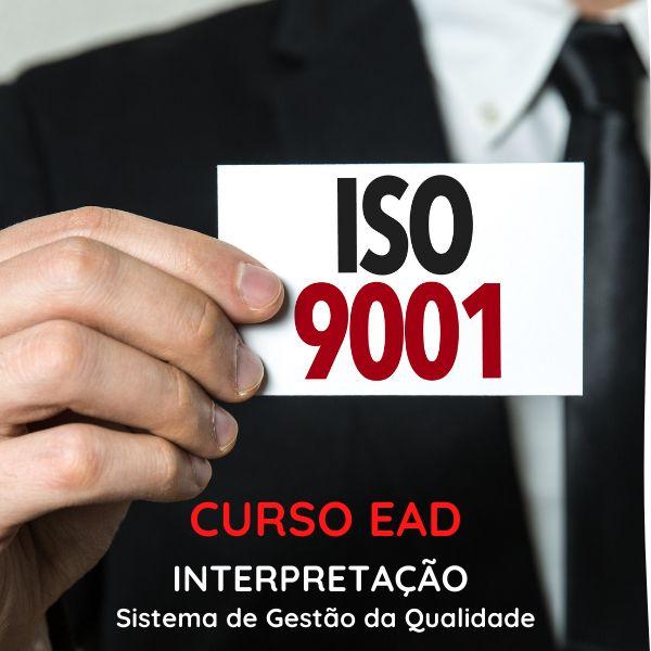 Imagem principal do produto Curso de Interpretação da norma ISO 9001:2015