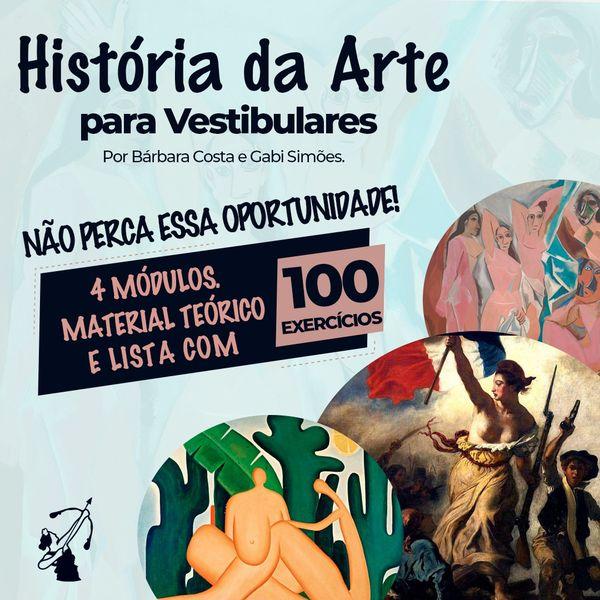 Imagem principal do produto História da Arte para Vestibulares