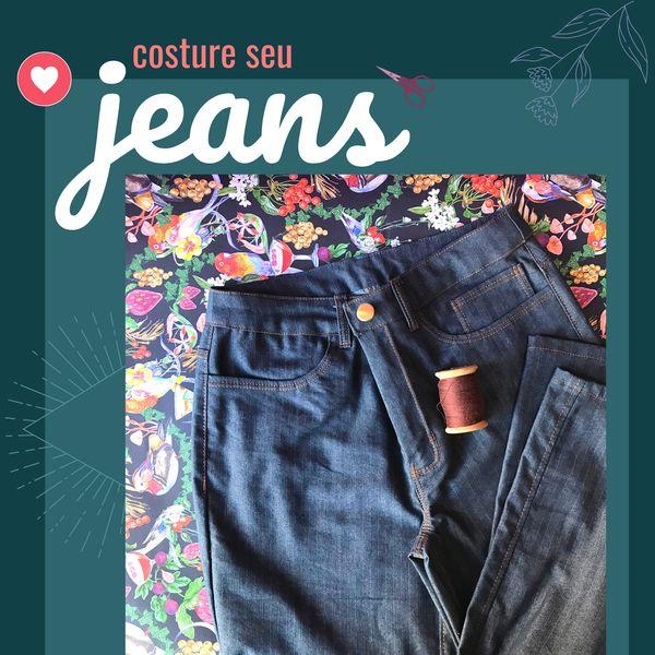 Imagem principal do produto Costure seu Jeans - Workshop
