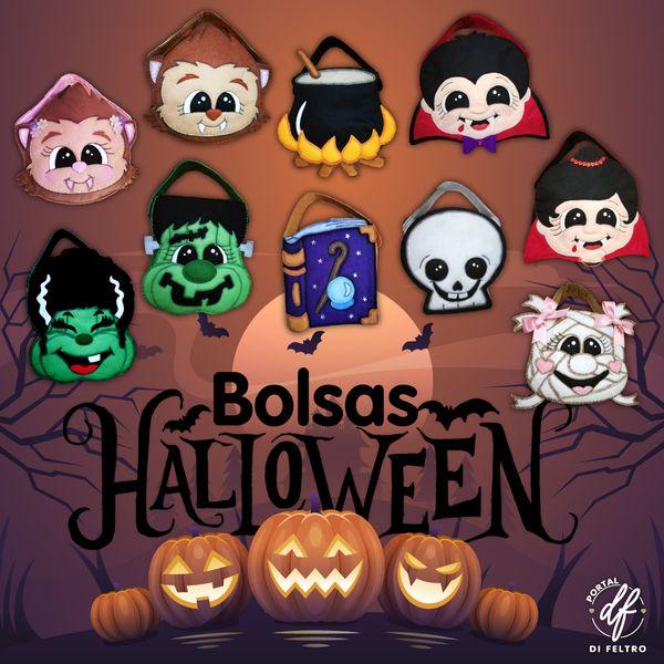 Imagem principal do produto Bolsas Halloween