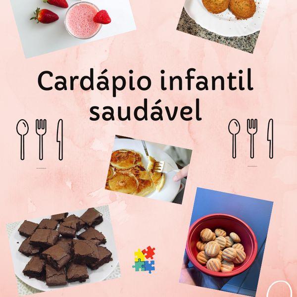 Imagem principal do produto Cardápio infantil saudável - Primeira edição