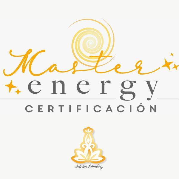 Imagem principal do produto Certificación Master Energy 3er gen