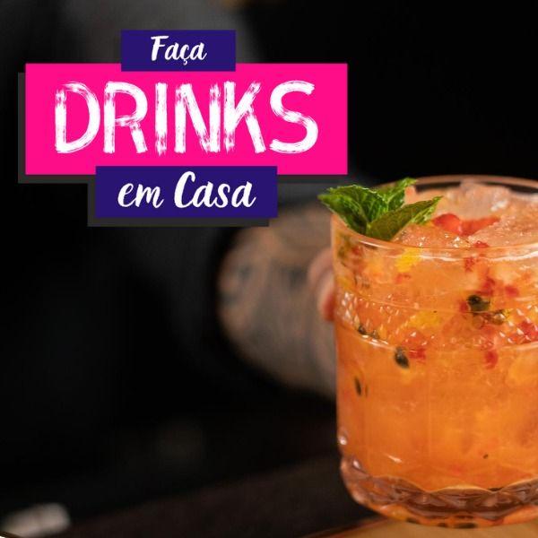 Imagem principal do produto Faça Drinks em Casa