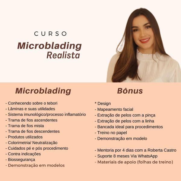 Imagem principal do produto Curso de Microblading