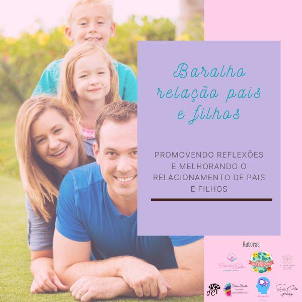 Imagem principal do produto Baralho em pdf  Para reflexão na relação entre pais e filhos