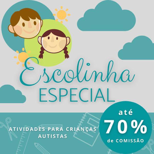 Imagem principal do produto ESCOLINHA ESPECIAL - Atividades para Educação Autista