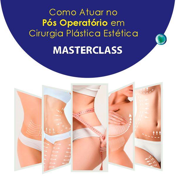 Imagem principal do produto COMO ATUAR NO PRÉ E PÓS OPERATÓRIO DE CIRURGIA PLÁSTICA ESTÉTICA – MASTERCLASSS