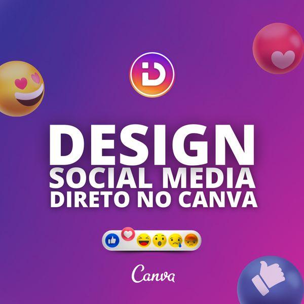 Imagem principal do produto Design Social Media | Pack Canva