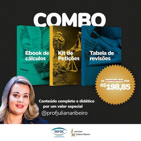 Imagem principal do produto Combo   Materiais Professora Juliana Ribeiro