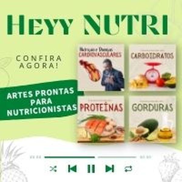 Imagem principal do produto Artes Prontas para Nutricionistas