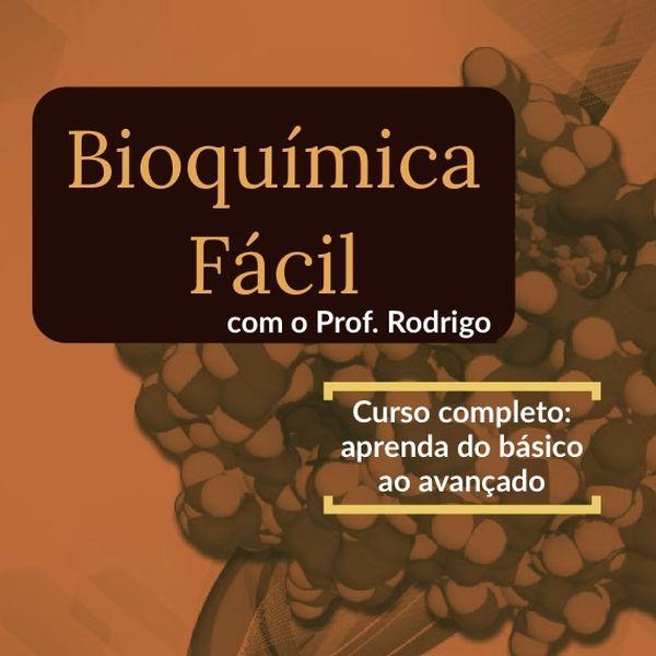Imagem principal do produto Bioquímica Fácil com o Prof. Rodrigo