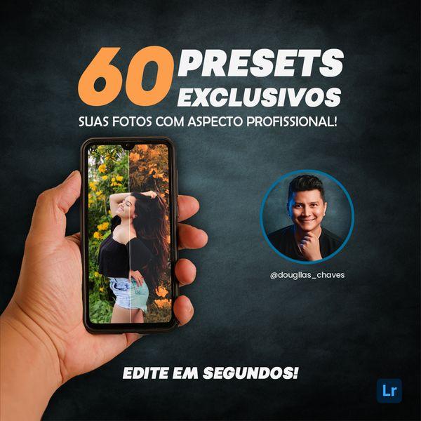 Imagem principal do produto 60 Presets exclusivos para lightroom