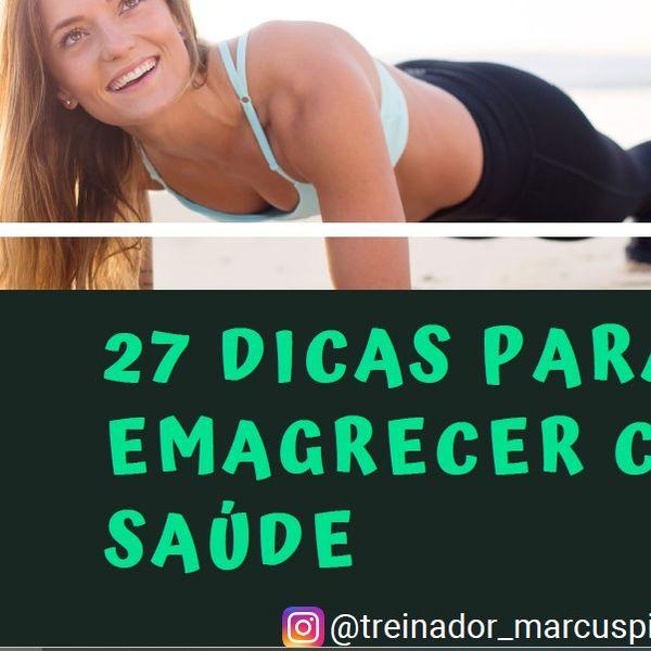 Imagem principal do produto 27 DICAS PRA EMAGRECER COM SAÚDE
