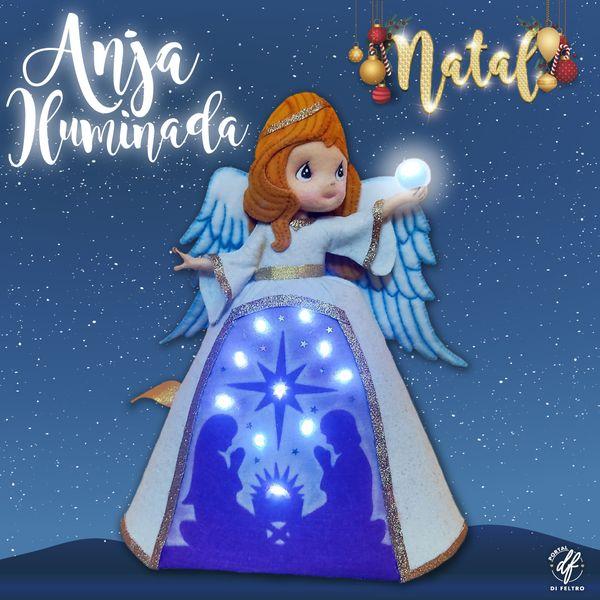 Imagem principal do produto Anja Iluminada - Portal Di Feltro