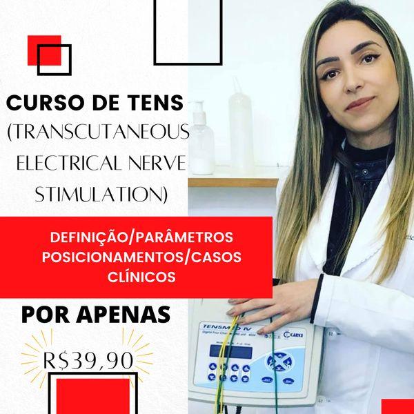 Imagem principal do produto CURSO DE TENS (TRANSCUTANEOUS ELETRICAL NERVE STIMULATION)