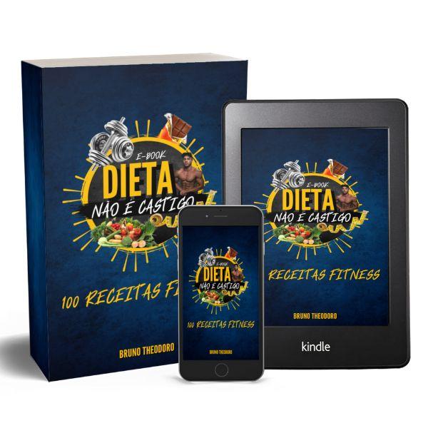 Imagem principal do produto Dieta não é castigo - 100 receitas fitness