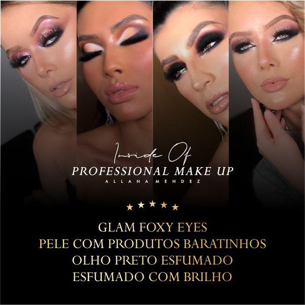 Imagem principal do produto Inside Of Professional Make Up (Combo 1) - 5 Técnicas Profissionais
