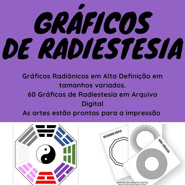 Imagem principal do produto 65 Graficos de Radiestesia