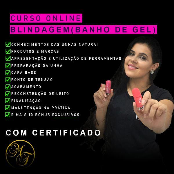 Imagem principal do produto Blindagem de unhas - Com Mônica Freitas