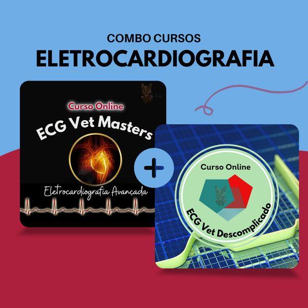 Imagem principal do produto Combo Cursos Eletrocardiografia Veterinária